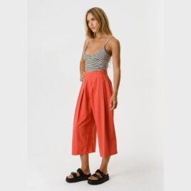 AFENDS Fi- Wide Leg Cropped Pant