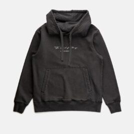 RHYTHM Volcano Vintage Fleece Hood Vintage Black