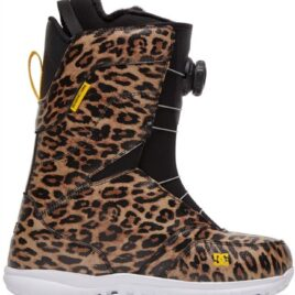 DC Search BOA Womens Snowboard Boots- Leopard Print 2021